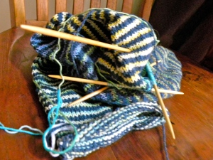 double stripe cowl